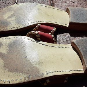Jack Rogers Shoes - Jack Rogers sandals SZ 7 wine brown Palm beach Nav